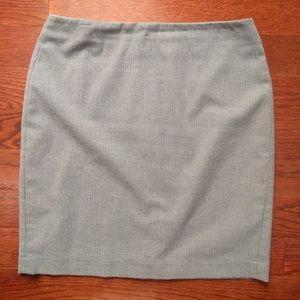 Banana Republic Pencil Skirt Gray Size 10